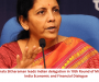 Nirmala Sitharaman leads Indian delegation in 10th Round of Ministerial UK-India Economic and Financial Dialogue
