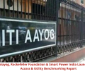 NITI Aayog, Rockefeller Foundation & Smart Power India Launch Electricity Access & Utility Benchmarking Report