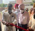 गांव मलकपुर में बने नए कम्युनिटी सेंटर का सांसद मनीष तिवारी ने किया उद्घाटन